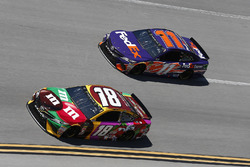 Kyle Busch, Joe Gibbs Racing, Toyota Camry M&M's Flavor Vote Denny Hamlin, Joe Gibbs Racing, Toyota Camry FedEx Express