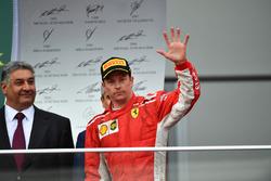 Kimi Raikkonen, Ferrari podyumda