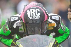 Manuel Bastianelli, Prodina Ircos Kawasaki, in griglia di partenza