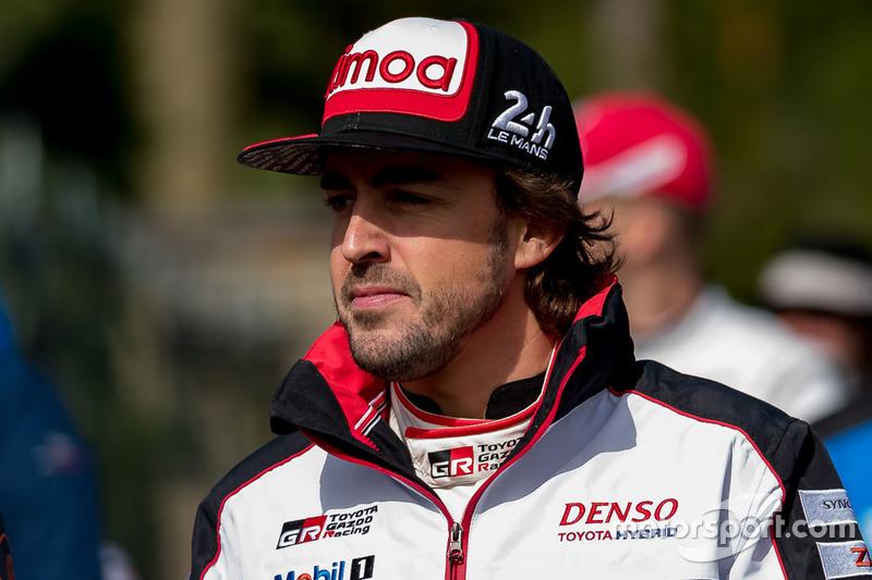 Фернандо Алонсо, Toyota Gazoo Racing, Toyota TS050 Hybrid (№8)