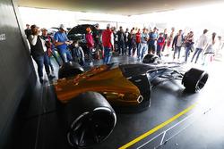 A Renault Sport F1 Team concept racing car