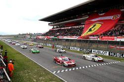 Starting grid Trofeo Pirelli