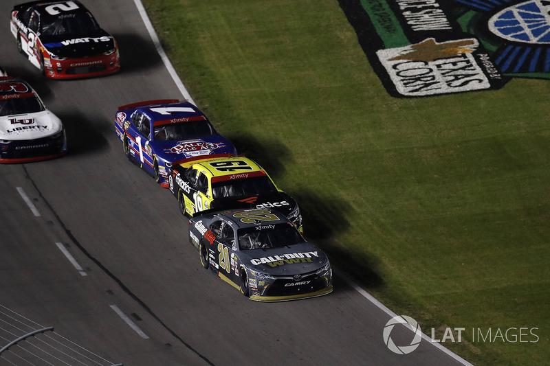 Erik Jones, Joe Gibbs Racing Toyota, Matt Tifft, Joe Gibbs Racing Toyota