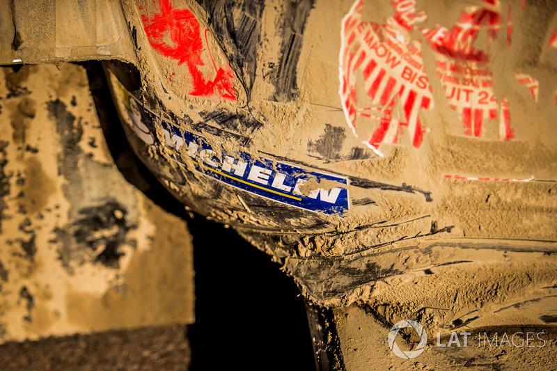 el auto de Sébastien Ogier, Julien Ingrassia, Ford Fiesta WRC, M-Sport