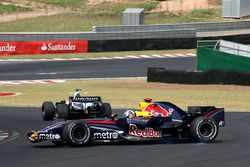 David Coulthard, Red Bull Racing RB3 spin