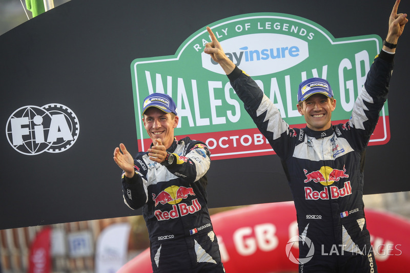 Rallye-WM (WRC): Sébastien Ogier (Frankreich), Julien Ingrassia (Frankreich)