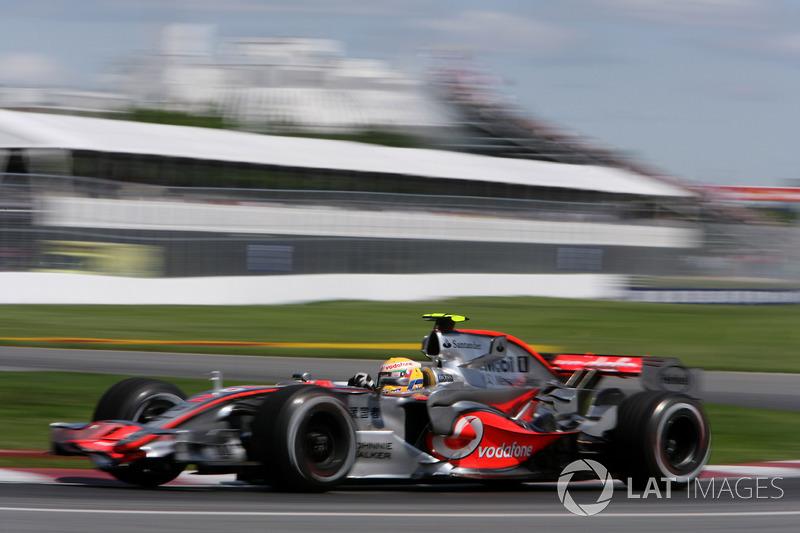 5. Льюис Хэмилтон – 22 года 5 месяцев 3 дня (Гран При Канады 2007 года, McLaren)