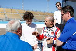 Tony Kanaan, A.J. Foyt Enterprises Chevrolet, Matheus Leist, A.J. Foyt Enterprises Chevrolet, mit A.