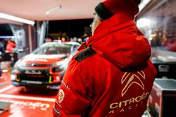 Citroën World Rally Team area atmosphere