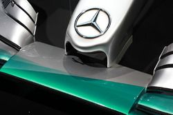 Mercedes F1 W04 nose detail