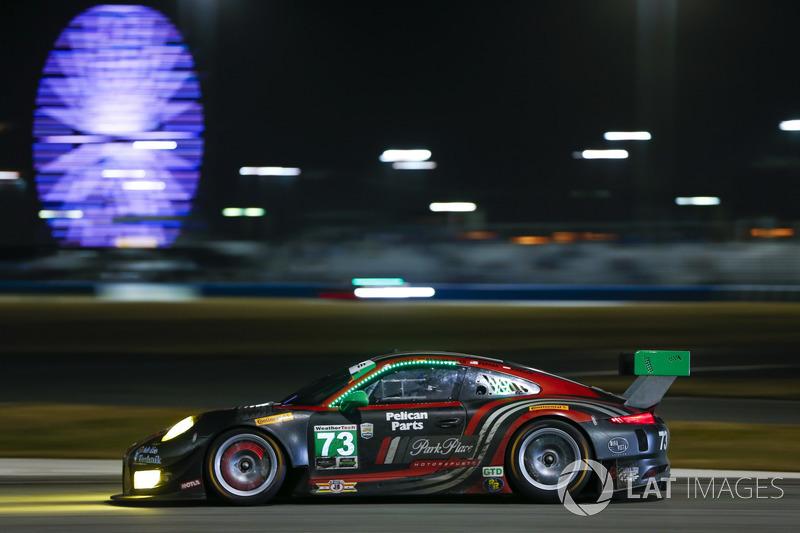#73 Park Place Motorsports Porsche GT3 R, GTD: Patrick Lindsey, Jšrg Bergmeister, Tim Pappas, Norber
