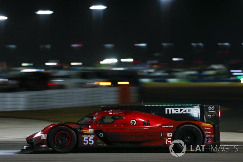 #55 Mazda Team Joest Mazda DPi, P: Jonathan Bomarito, Spencer Pigot, Harry Tincknell