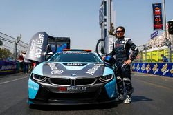Bruno Correia, safety car driver with the new Qualcomm BMW i8 Safety Car