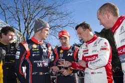 Thierry Neuville, Hyundai Motorsport, Nicolas Gilsoul, Hyundai Motorsport, Kris Meeke, Citroën World