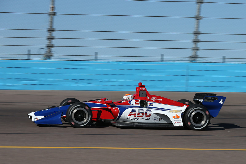 #4: Matheus Leist, A.J. Foyt Racing, Chevrolet