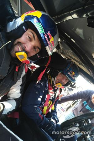 Antoine Meo and Sebastien Loeb