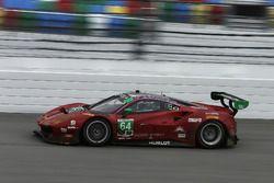 #64 Scuderia Corsa Ferrari 488 GT3: Bill Sweedler, Townsend Bell, Frank Montecalvo, Sam Bird