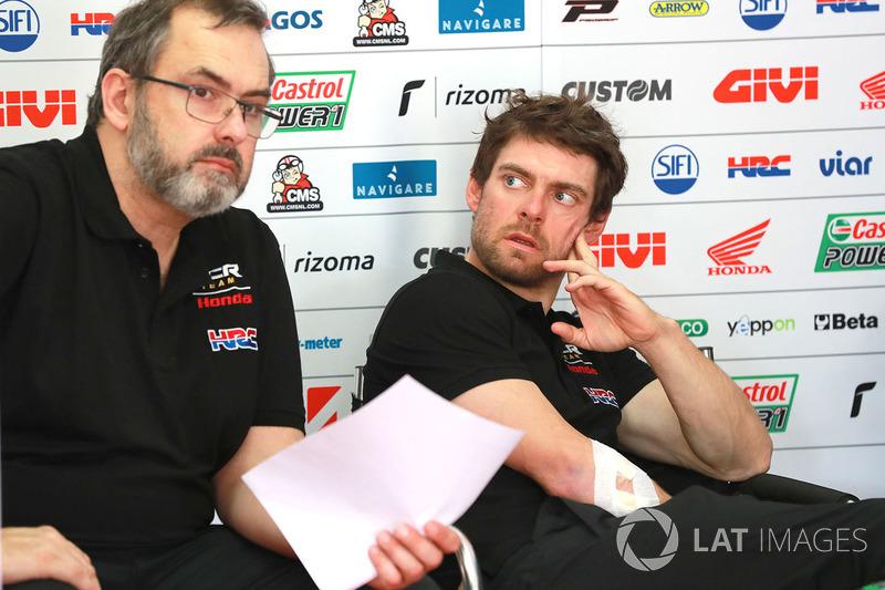 Christophe Bourguignon, Cal Crutchlow, Team LCR Honda
