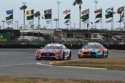 #71 P1 Motorsports Mercedes-AMG GT3: Kenton Koch, Robby Foley III, JC Perez, Loris Spinelli, #75 Sun