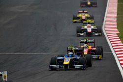 Nicholas Latifi, DAMS leads Jordan King, Racing Engineering