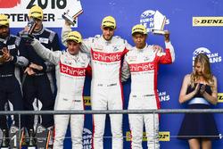 Podium: 3. #46 Thiriet by TDS Racing Oreca 05 - Nissan: Pierre Thiriet, Mathias Beche, Ryo Hirakama