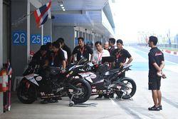 AP Honda Racing Thailand team area