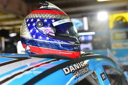 Casco de Danica Patrick, Stewart-Haas Racing Chevrolet