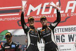 Mirko Bortolotti e Jeroen Mul, Imperiale Racing sul podio