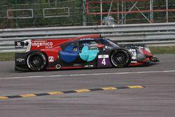 Camino de escape; #4 Oak Racing, Ligier JS P3-Nissan: Carlos Tavares, Erik Maris