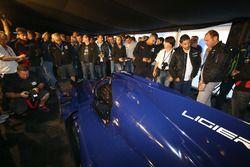 Presentación Ligier JS P217 LMP2 by ONROAK Automotive