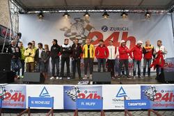 Todos los pilotos en el día de la carrera de Adenauer