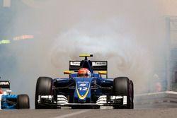 Felipe Nasr, Sauber C35 casse son moteur en qualifications