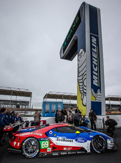 Экипаж #69 Ford Chip Ganassi Racing Ford GT