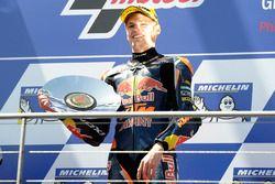 Podium : le vainqueur Brad Binder, Red Bull KTM Ajo