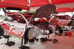 Skoda Fabia R5, Team MRF area