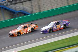 Daniel Suarez, Joe Gibbs Racing Toyota, Derrike Cope, Chevrolet