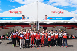 Bruno Senna, Mahindra Racing with Nick Heidfeld, Mahindra Racing and the Mahindra Racing team