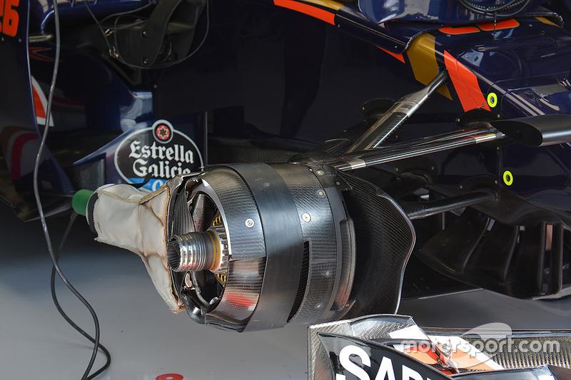 Toro Rosso front brakes
