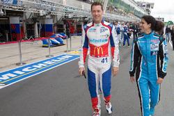 #28 Pegasus Racing Morgan Nissan: Inès Taittinger and #41 Greaves Motorsport Ligier JSP2 Nissan: Ju