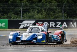 Off-track excursion for #27 SMP Racing BR01 Nissan: Nicolas Minassian, Maurizio Mediani, Mikhail Ale