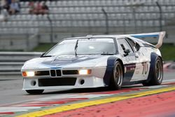 BMW M1 Procar legends race, Gerhard Berger