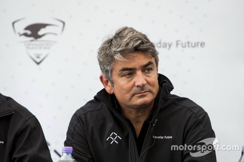 Pressekonferenz Dragon Racing: Marco Mattiacci, Marketingchef Faraday Future