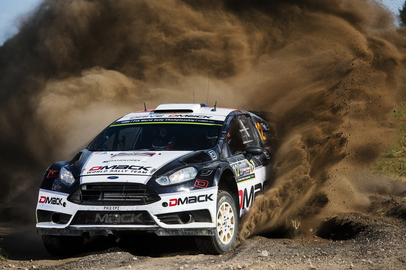 10. Ott Tanak, Raigo Molder, DMACK World Rally Team