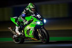 #11 Kawasaki: Grégory Leblanc, Mathieu Lagrive, Fabien Foret