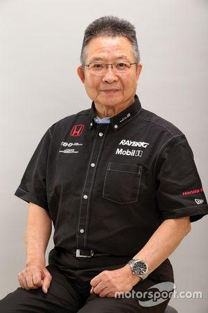 Руководитель команды Team Kunimitsu Кунимицу Такахаси