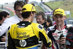 Alex Rins, Paginas Amarillas HP 40, Kalex and Sam Lowes,Federal Oil Gresini Moto2, Kalex