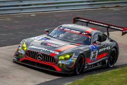 #30 AMG-Team HTP Motorsport, Mercedes-AMG GT3: Dominik Baumann, Stefan Mücke, Maximilian Buhk, Thomas Jäger