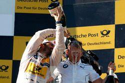 Podium: Timo Glock, BMW Team RMG, BMW M4 DTM et Stefan Reinhold, BMW Team RMG