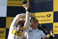 Podium: Timo Glock, BMW Team RMG, BMW M4 DTM and Stefan Reinhold, BMW Team RMG
