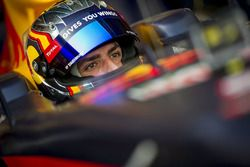 Carlos Sainz Jr. drives the Red Bull RB7